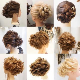 ヘアセット 簡単ヘアアレンジ ヘアアレンジ エレガント ヘアスタイルや髪型の写真・画像 ヘアスタイルや髪型の写真・画像