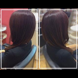 艶髪 髪質改善 ロング 髪質改善トリートメント ヘアスタイルや髪型の写真・画像