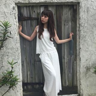 外国人風 大人かわいい アッシュ パーマ ヘアスタイルや髪型の写真・画像
