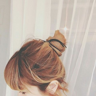 ロング お団子 ショート デート ヘアスタイルや髪型の写真・画像