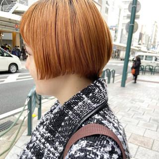 小顔ショート ハンサムショート ショートヘア ショート ヘアスタイルや髪型の写真・画像