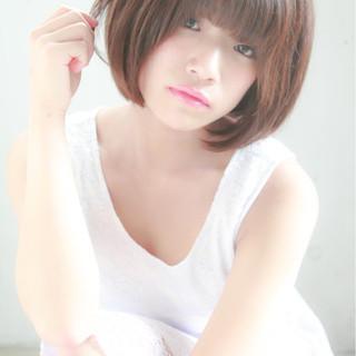 大人かわいい ストレート ナチュラル ピュア ヘアスタイルや髪型の写真・画像