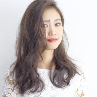 デート 黒髪 ミルクティー パーマ ヘアスタイルや髪型の写真・画像