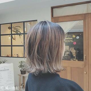 ゆるふわ デート 外ハネ 外国人風カラー ヘアスタイルや髪型の写真・画像