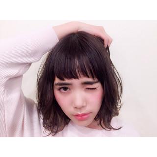簡単 フェミニン レイヤーカット 大人かわいい ヘアスタイルや髪型の写真・画像