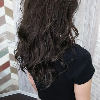 ダブルカラー 夏 フェミニン ヘアカラー ヘアスタイルや髪型の写真・画像