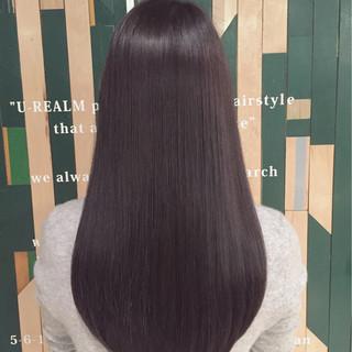 ブルージュ ナチュラル アッシュ ロング ヘアスタイルや髪型の写真・画像 ヘアスタイルや髪型の写真・画像