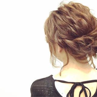 ショート ボブ 簡単ヘアアレンジ 外国人風 ヘアスタイルや髪型の写真・画像