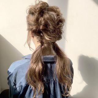 ヘアアレンジ リラックス ナチュラル 色気 ヘアスタイルや髪型の写真・画像