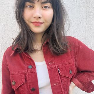 オフィス ミディアム 女子力 大人かわいい ヘアスタイルや髪型の写真・画像