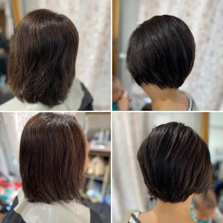 ボブ ショートヘア モード ベリーショート ヘアスタイルや髪型の写真・画像