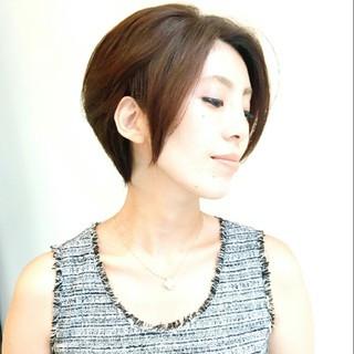 かっこいい コンサバ 大人かわいい フェミニン ヘアスタイルや髪型の写真・画像