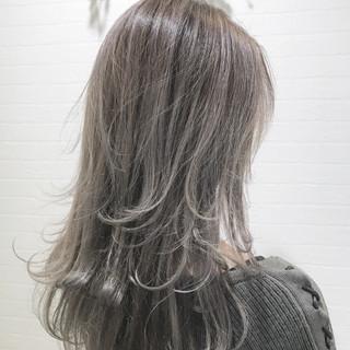 謝恩会 ナチュラル ロング 結婚式 ヘアスタイルや髪型の写真・画像