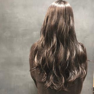 ナチュラル 外国人風カラー ロング 透明感カラー ヘアスタイルや髪型の写真・画像 ヘアスタイルや髪型の写真・画像