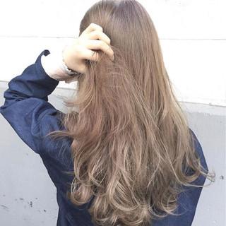 簡単ヘアアレンジ 透明感 ストリート ロング ヘアスタイルや髪型の写真・画像