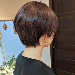 ヘルシースタイル ショート ベリーショート ナチュラル ヘアスタイルや髪型の写真・画像