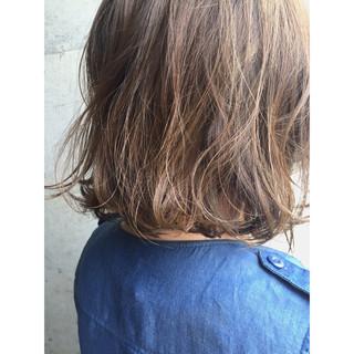 ボブ ハイライト アッシュ アッシュベージュ ヘアスタイルや髪型の写真・画像 ヘアスタイルや髪型の写真・画像
