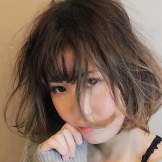 ナチュラル ミディアム 大人かわいい 外国人風 ヘアスタイルや髪型の写真・画像