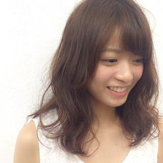 透明感 大人かわいい 女子力 アンニュイ ヘアスタイルや髪型の写真・画像