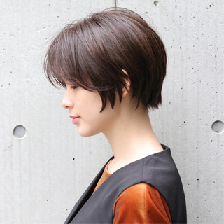 ショート デート ショートヘア ヘアアレンジ ヘアスタイルや髪型の写真・画像