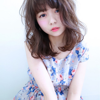 夏 フェミニン 春 簡単 ヘアスタイルや髪型の写真・画像
