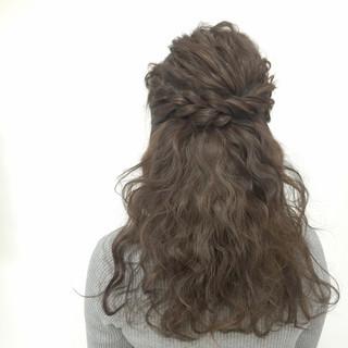 モテ髪 大人かわいい ヘアアレンジ ゆるふわ ヘアスタイルや髪型の写真・画像