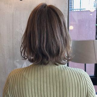 女子力 ボブ フェミニン 外国人風カラー ヘアスタイルや髪型の写真・画像