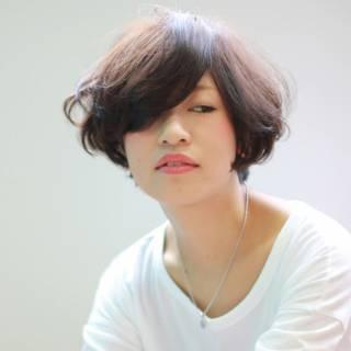ゆるふわ 外国人風 フェミニン ボブ ヘアスタイルや髪型の写真・画像