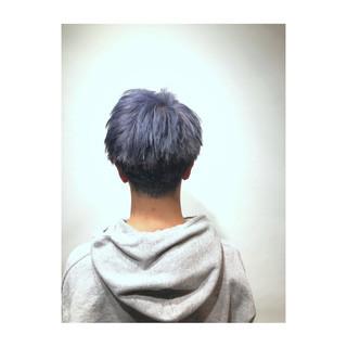 ブルーラベンダー 春 ブルーアッシュ 透明感 ヘアスタイルや髪型の写真・画像 ヘアスタイルや髪型の写真・画像