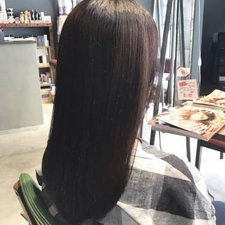 オーガニックカラー 最新トリートメント 大人ロング 大人かわいい ヘアスタイルや髪型の写真・画像