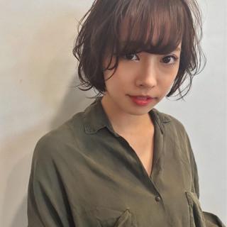 上品 ショート エレガント デート ヘアスタイルや髪型の写真・画像
