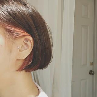 ショート デート 大人かわいい 色気 ヘアスタイルや髪型の写真・画像