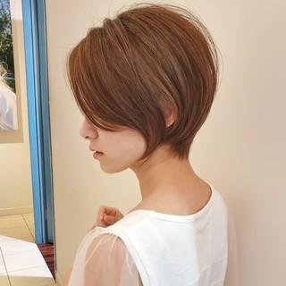 デート オフィス ヘアアレンジ ショート ヘアスタイルや髪型の写真・画像