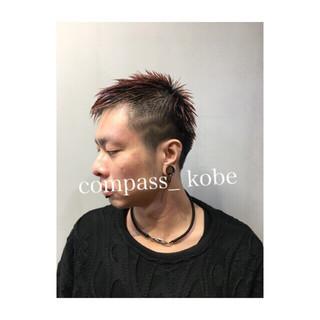 パーマ スポーツ アウトドア ショート ヘアスタイルや髪型の写真・画像