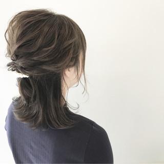 デート ヘアアレンジ オフィス 結婚式 ヘアスタイルや髪型の写真・画像