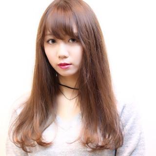 ロング 小顔 透明感 ピュア ヘアスタイルや髪型の写真・画像