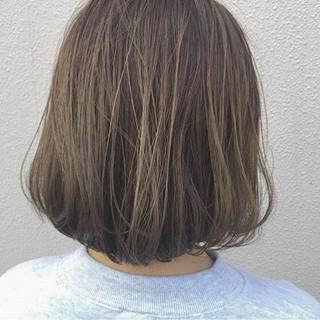 ナチュラル ハイライト アッシュ ボブ ヘアスタイルや髪型の写真・画像 ヘアスタイルや髪型の写真・画像