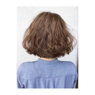 ボブ 波ウェーブ 外ハネ ヘアアレンジ ヘアスタイルや髪型の写真・画像 ヘアスタイルや髪型の写真・画像