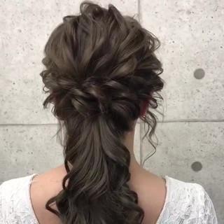 上品 エレガント アップスタイル パーティ ヘアスタイルや髪型の写真・画像