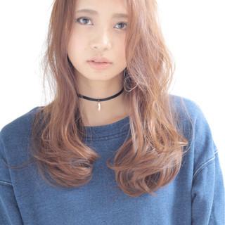 コンサバ 大人かわいい ロング フェミニン ヘアスタイルや髪型の写真・画像