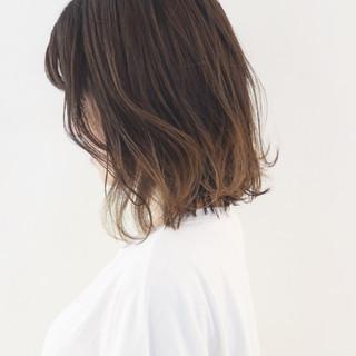 外国人風 グラデーションカラー ハイライト ボブ ヘアスタイルや髪型の写真・画像