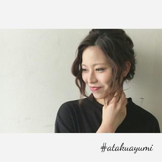 ミディアム 女子会 エレガント 上品 ヘアスタイルや髪型の写真・画像 ヘアスタイルや髪型の写真・画像