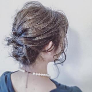 上品 ヘアアレンジ フェミニン 大人女子 ヘアスタイルや髪型の写真・画像