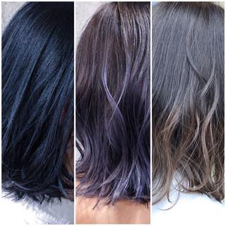 デート 外国人風カラー グラデーションカラー ナチュラル ヘアスタイルや髪型の写真・画像