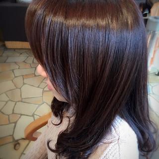 大人女子 艶髪 ロング 暗髪 ヘアスタイルや髪型の写真・画像