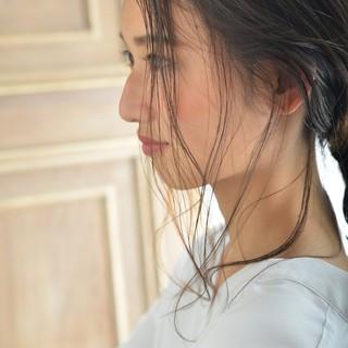 大人女子 デート ショート ナチュラル ヘアスタイルや髪型の写真・画像