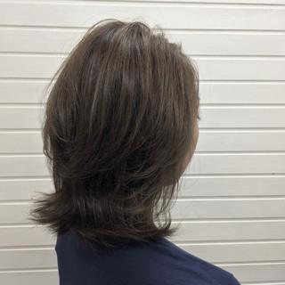 ミディアム 冬 秋 ストリート ヘアスタイルや髪型の写真・画像