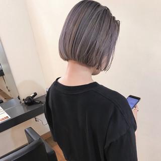ナチュラル ハイライト ボブ 女子力 ヘアスタイルや髪型の写真・画像
