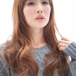 大人かわいい 外国人風 ロング ナチュラル ヘアスタイルや髪型の写真・画像 ヘアスタイルや髪型の写真・画像