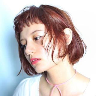 ピュア 切りっぱなし 外国人風 ナチュラル ヘアスタイルや髪型の写真・画像 ヘアスタイルや髪型の写真・画像